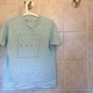 Neff Shirts - Light blue Neff tee